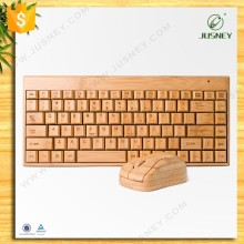 wholesale full bamboo DPI: 800 wireless bamboo keyboard with mouse combo