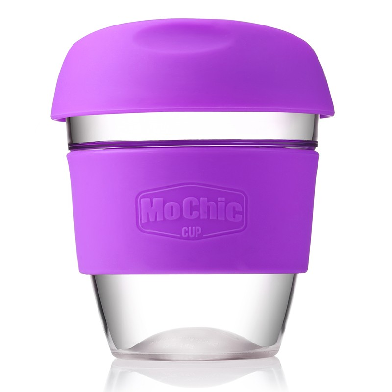 Mochic 8OZ/272ML stylish designed coffee cup reusable plastic coffee cup