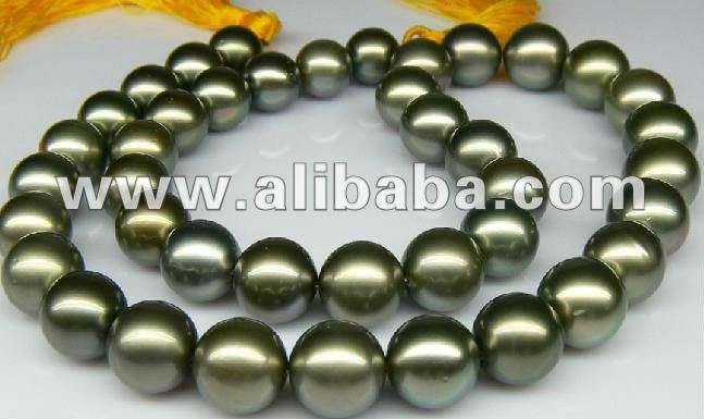 Natural Tahitian pearls jewelry with 925 sterling silver,14K 18K 24K GOLD