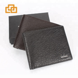 Super slim wallet wholesale cheap minimalist RFID mens leather wallets