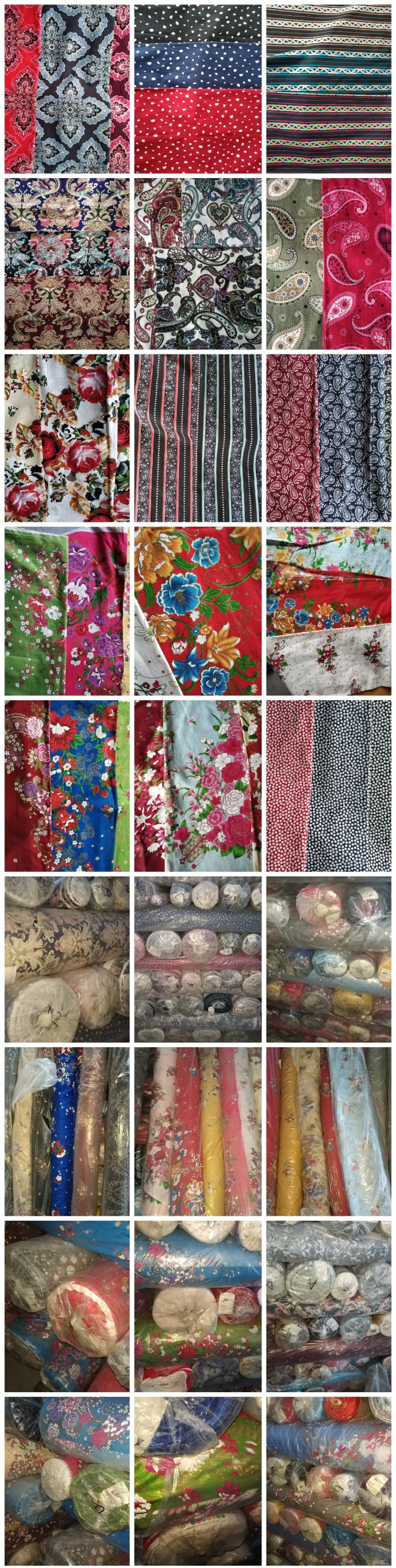 60*60 JINOOTEX Woven 20S Cotton Print Fabric For Sale