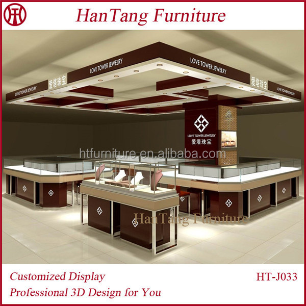 Retail 2020feet Beautiful Modern Jewelry Shop Interior Design For Furniture