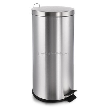 30l Foot Pedal Deco Bin Kitchen Trash Can With Plastic Inner  Bucket,Space-saver Stainless Steel Garbage Can - Buy Garbage Can,Kitchen  Garbage ...