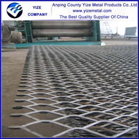 Hot sale high quality steel expanded metal mesh/brass plate expanded metal