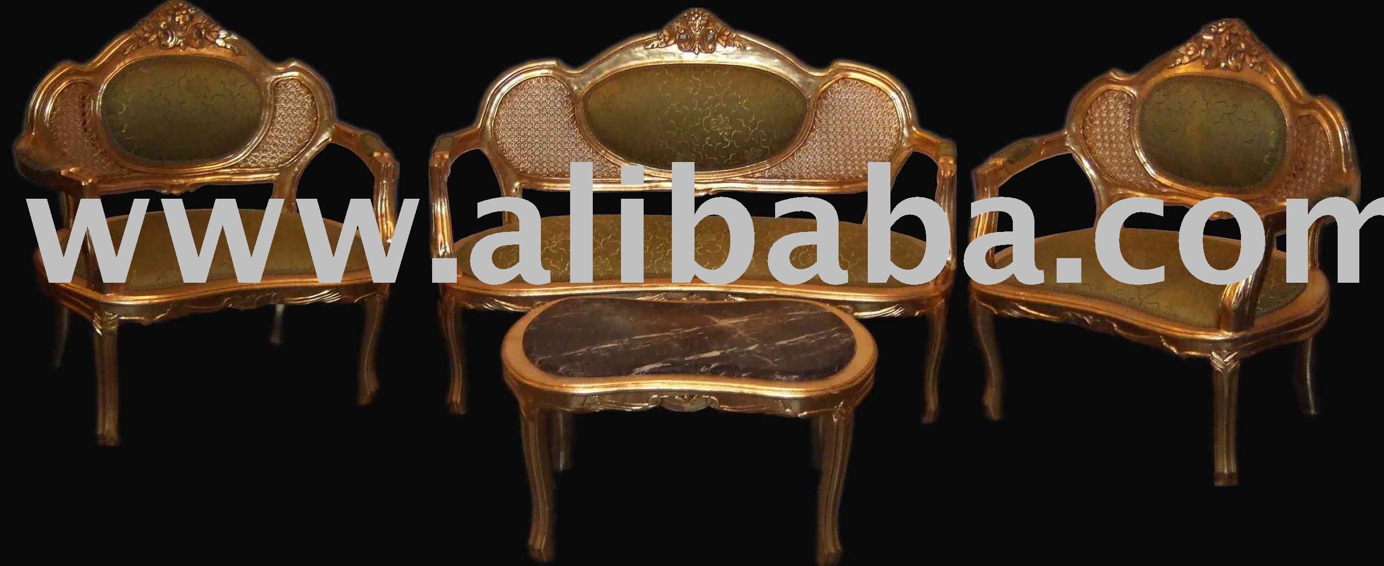 Antique Furniture - Louis Xvi Salon Set