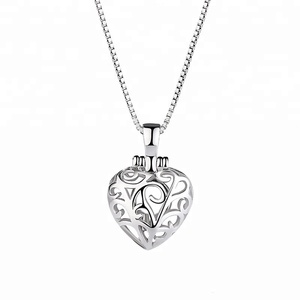 Venus Fashion Korean Style Hollow Pendant Creative Valentine's Day Heart-shaped Gift Silver Jewelry Wholesale