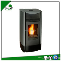 indoor using automatic feeding and ignite wood pellet stove