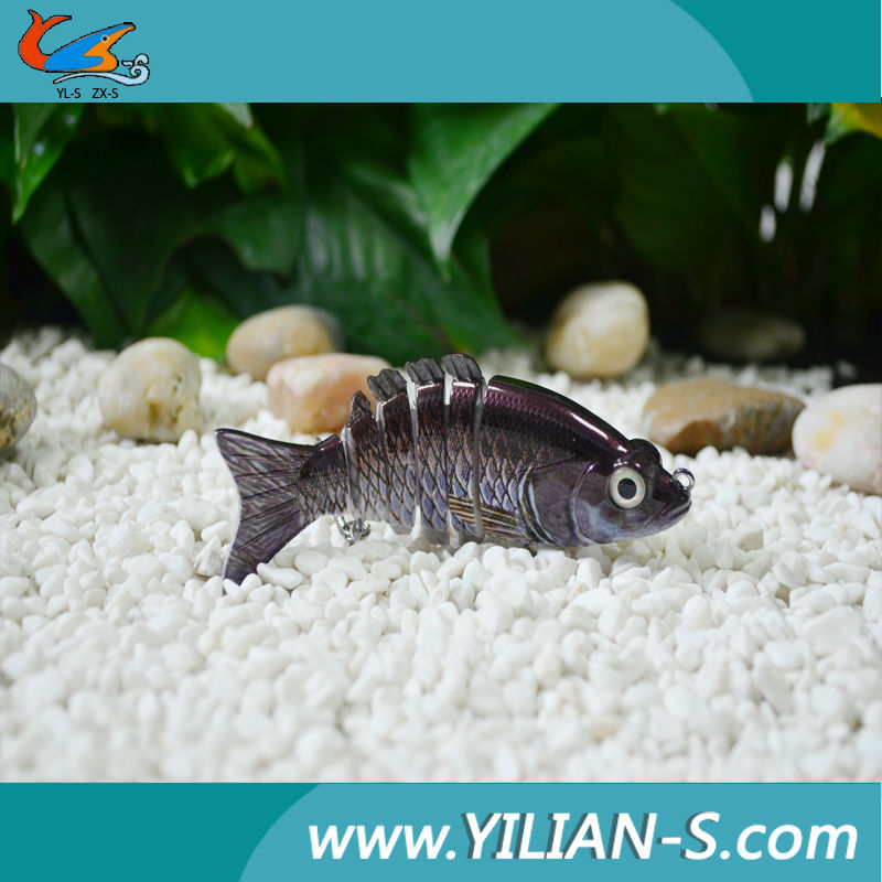 Hot sale wholesale plastic rubber fish lure
