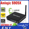 ENYBOX-X1 Amlogic S905X Quad Core support wireless mouse and keyboard via USB Anddroid 6.0 high speed tv box