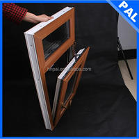 pvc profile argon filled double glazed windows double glazing window