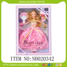 newest cute wholesales dress doll for female