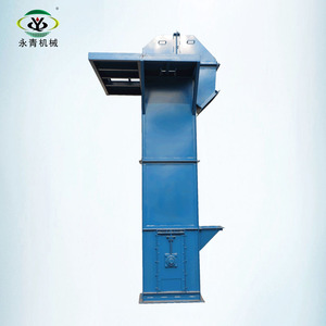 China electric small agriculture grain bucket elevator
