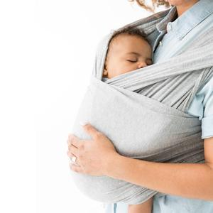 Breathable Natural Cotton bamboo Baby Sling Carrier Wrap