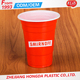 plastic popular eco-friendly red cup