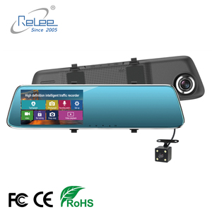 4.3 inch Mirror Car DVR Camera Android with DVRs Automobile Video Recorder Rearview Mirror Camera Dash Cam