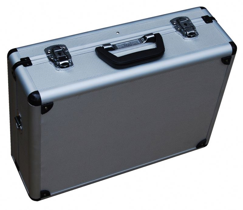 RL Camera Metal Case Tool Medium Hard Aluminum Safe Secure Carrying Travel Storage Case