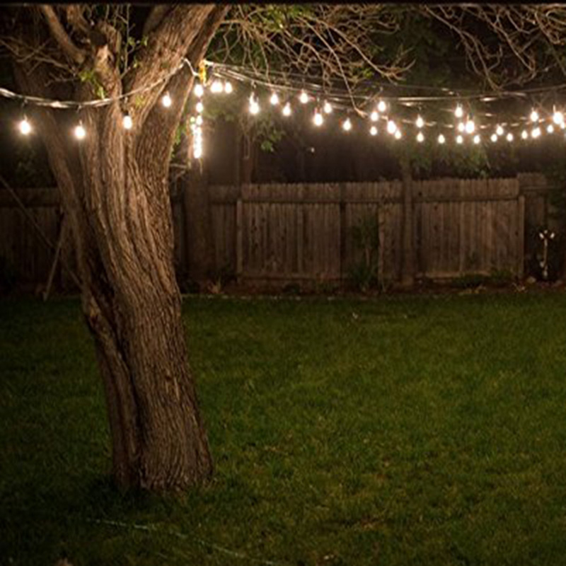Customized halloween outdoor decorated led festoon lighting strings