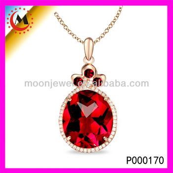 Latest pendant designgold chain red stone pendant necklacebig latest pendant designgold chain red stone pendant necklacebig stone pendant jewelry aloadofball Choice Image