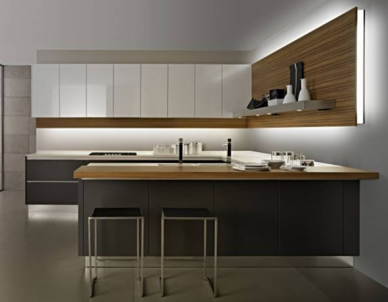 Modern Design Kitchen Wall Hanging Cabinet With Blum Kitchen Accessories
