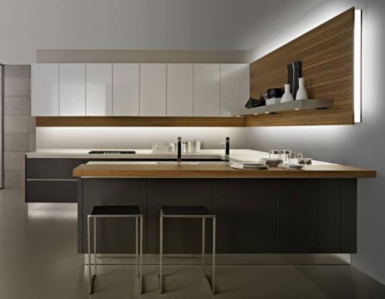Modern Design Kitchen Wall Hanging Cabinet With Blum Kitchen ...