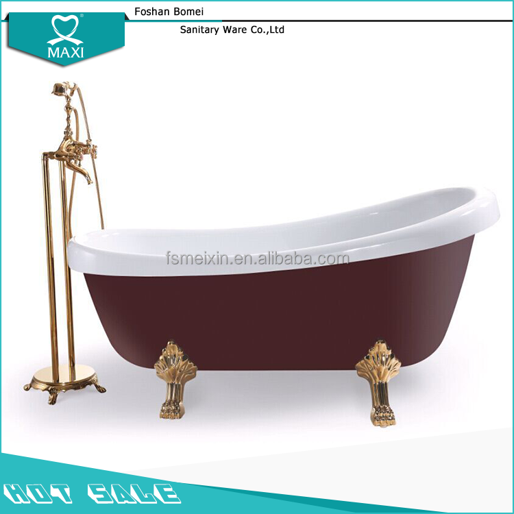 BA-8303 Hot sale corner soaking tub small bathtub sizes bathtub wall surround