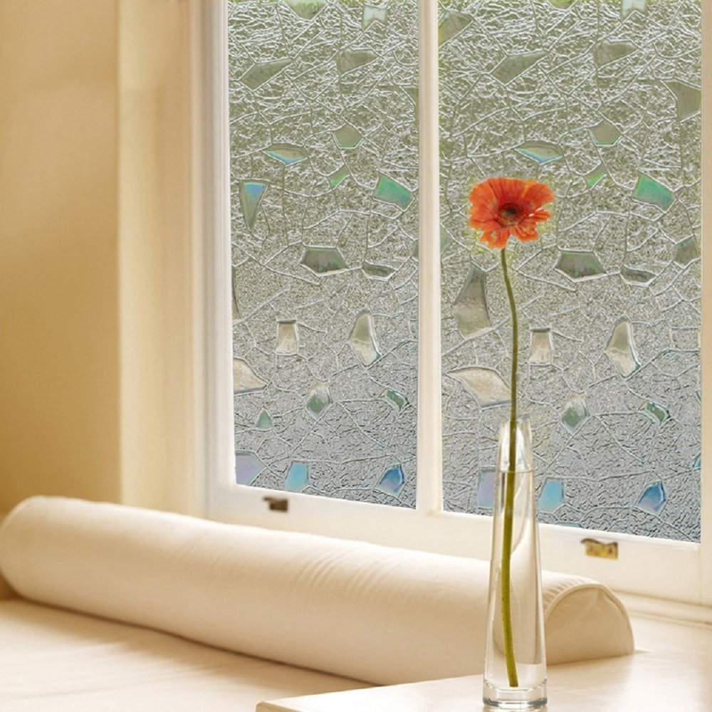 Sporting Funlife Non Adhesive Privacy Static Glass Window Film Frosted Window Cling Sticker Heat Control Anti Uv Vinyl Decoration Back To Search Resultshome & Garden Home Decor