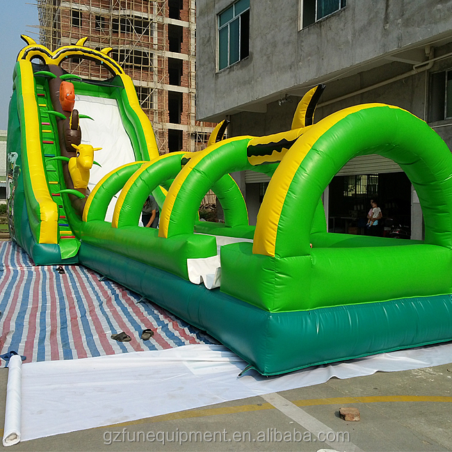 jungle inflatable slide.jpg