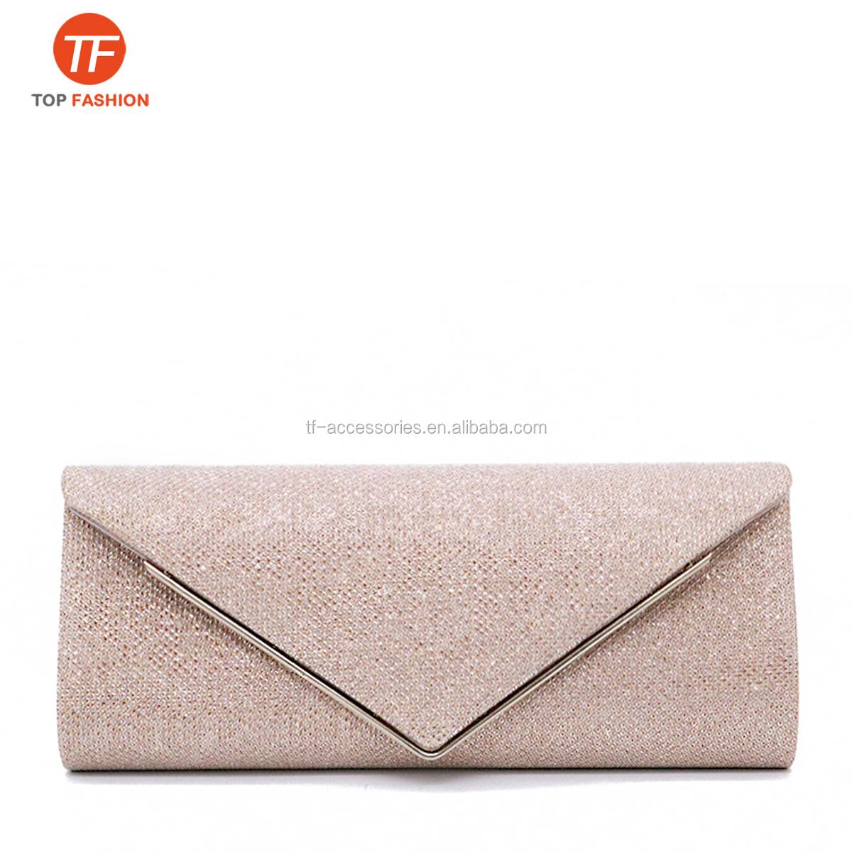 Nuevo Duro Brillante Brillo compacto para Mujer Noche Graduación Embrague Bag