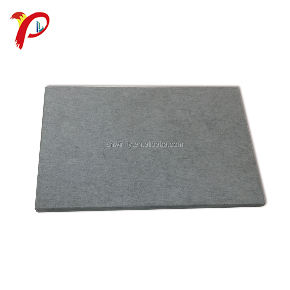 Construction Materials Cladding Exterior Wall Colored Fibre Cement Compressed Flat Sheet