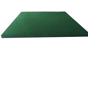 YGT-3D nylon green grass golf stance mat, golf putter mat