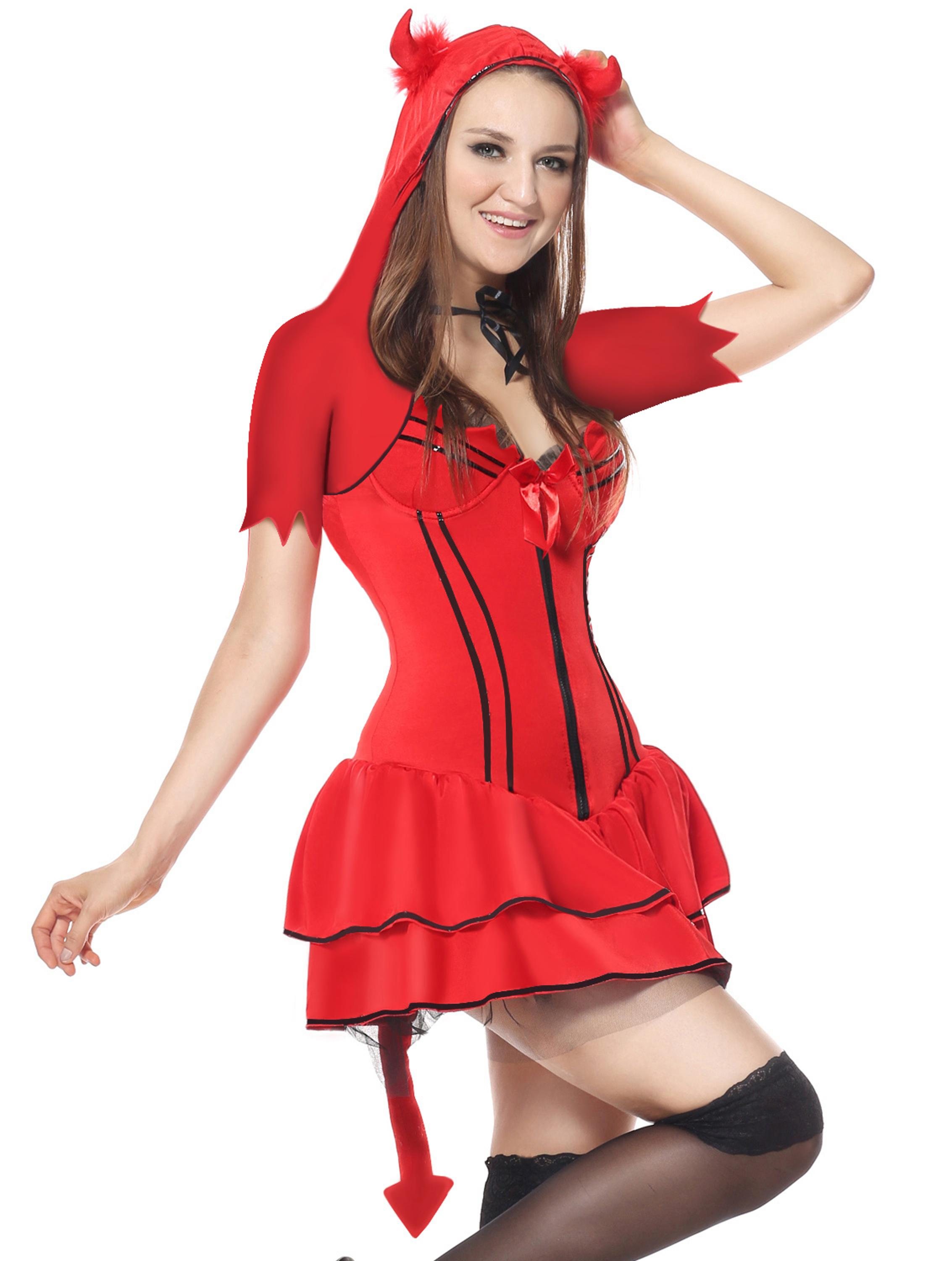 Hot Sexy Red Dress Women Halloween Devil Costume  sc 1 st  Alibaba & Hot Sexy Red Dress Women Halloween Devil Costume - Buy Red Dress ...