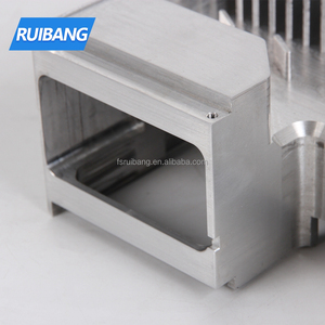 Custom extruded aluminum heatsink manufacturer aluminium alloy external square flat heat sink