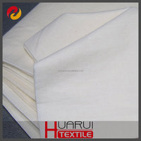 China manufacture supply 100% organic cotton fabric for shirt