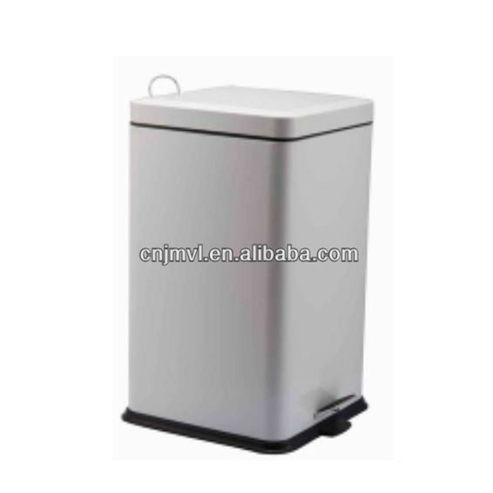 Dailyart Hot Sell rectangle stainless steel trash can(VD10019M )