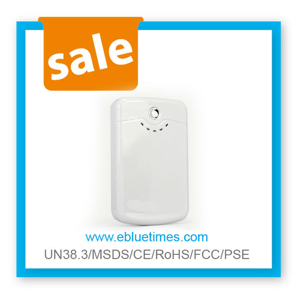 White fans 8800mah 11200mah power bank your travel partner
