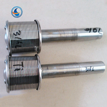 Square Hole Basket Strainer / Round Hose Water And Gas Filter Strainer Nozzle