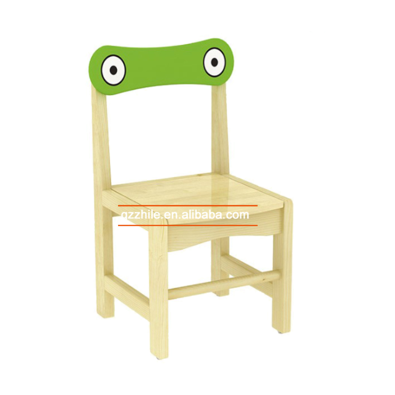 Promotion Kindergarten Montessori Wooden Furniture Baby Chair