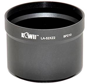 Metal Lens / Filter Adapter Tube For Olympus XZ1 & XZ2 52mm