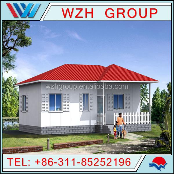 Prefab House Two Bedroom Prefabricated House/prefab