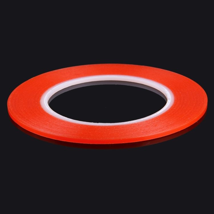 3mm width 3M Double Sided Adhesive Sticker Tape for iPhone / Samsung / HTC Mobile Phone Touch Panel Repair, Length: 25m