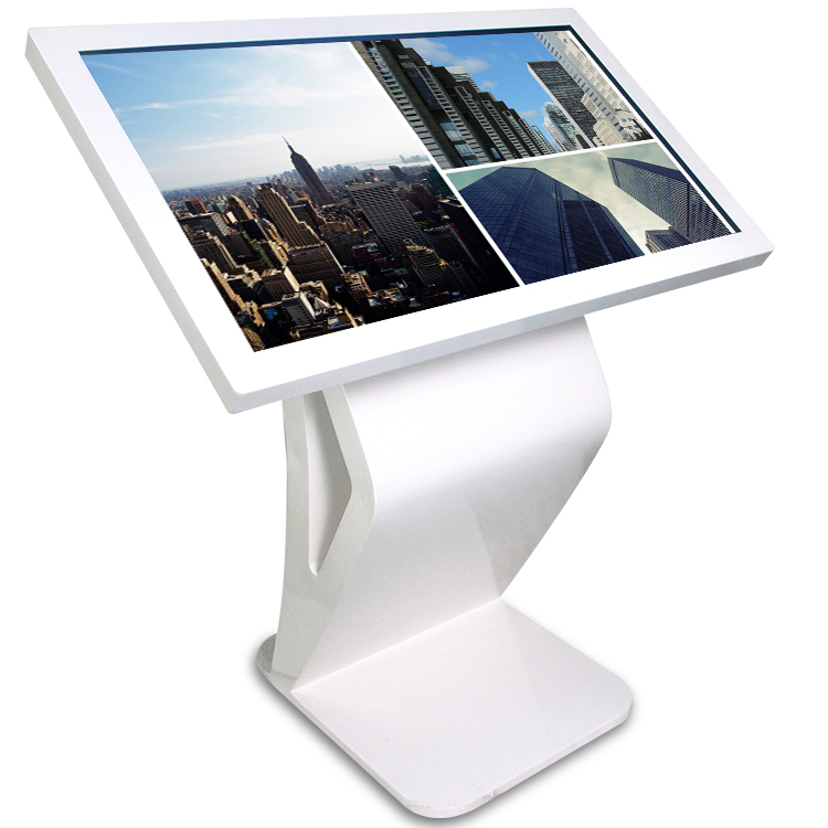 55 inch desk top PC all in one information check touch kiosk digital signage