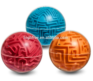 magical intellect maze ball children's education toy/3D Game Magical Intellect Maze Ball/labyrinth game for children and adult