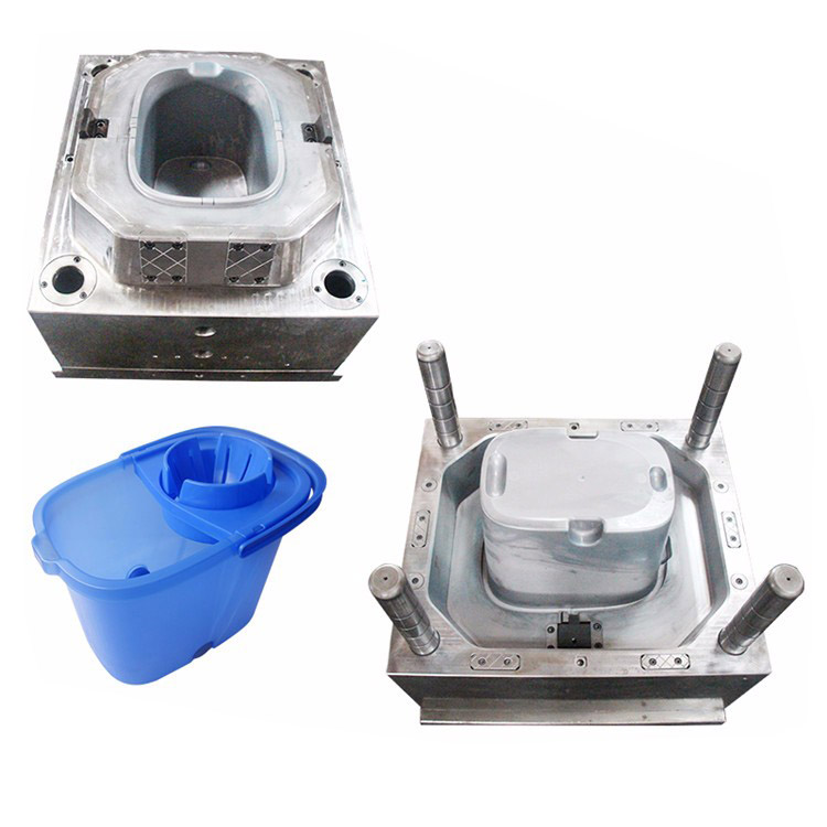 Factory Price Plastic Injection Spin Mop bucket mould maker
