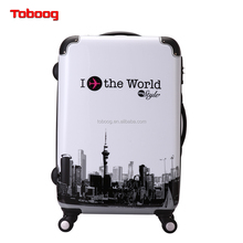 2017 Fashionable New Style ABS+PC material China Supplier Luggage Sets,Carry-ons,Trolley Suitcase with wholesale price,Hotsale