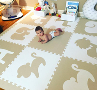 EVA Play Puzzle Mat For Child Education Flooring Soft Mat