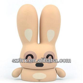 Telinga Panjang Kelinci Boneka Plastik Mainan Sendiri Mewarnai