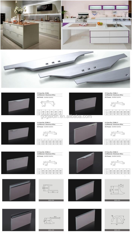 Conceal aluminium profile self adhesive cabinet pulls and knobs conceal aluminium profile self adhesive cabinet pulls and knobs double sided door pull handle sciox Gallery