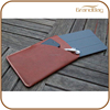 Top-quality Luxury Handmade Leather Case For iPad Mini with phone pocket for ipad mini4 case