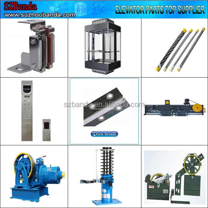 Elevator Parts/elevator Machined Guide Rail T70-1/b,T75-3/b,T89/b