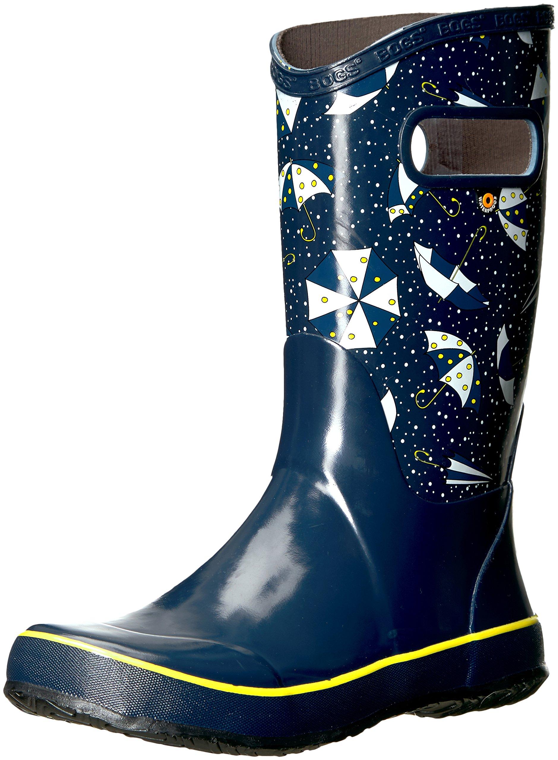 Bogs Riley Kids Slip-On Waterproof Low Top Rain Boot for Boys and Girls